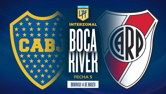 Boca recibe a River en el partido de la fecha.